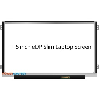 11.6 inch eDP Slim 30-PIN Laptop Scherm 1366x768 Left-Right Hings