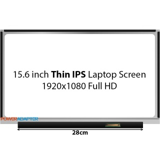 15.6 inch Thin eDP IPS 30-PIN Laptop Scherm 1920x1080 Full HD No Brackets Mat