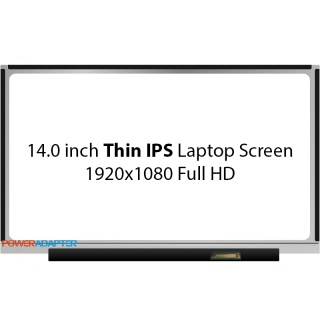 14.0 inch Thin eDP IPS 30-PIN Scherm Full HD No Brackets